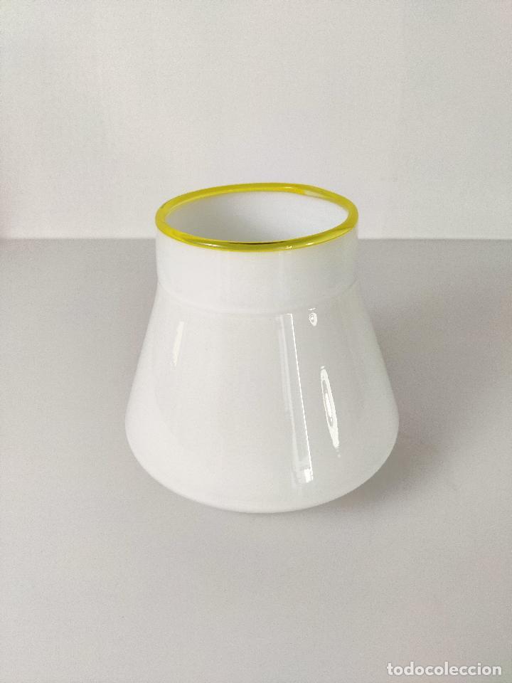 Vintage: Lámpara de techo aplique LEUCOS en cristal de Murano, 1970s - Foto 2 - 261638055