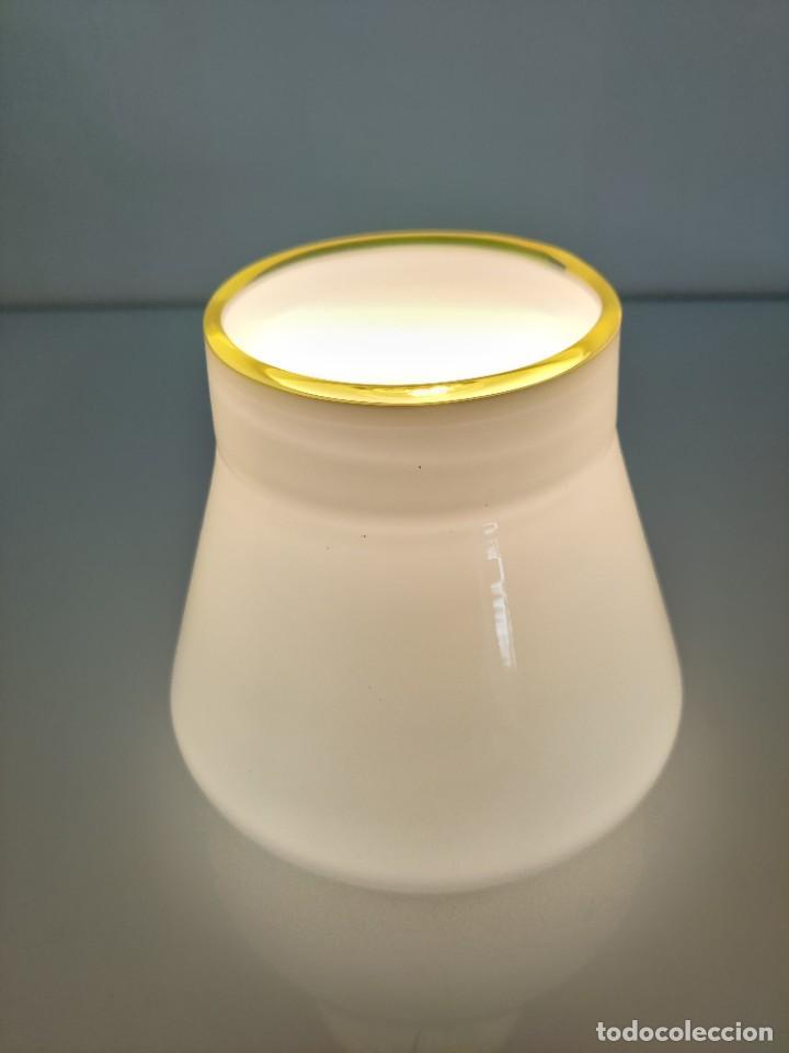 Vintage: Lámpara de techo aplique LEUCOS en cristal de Murano, 1970s - Foto 4 - 261638055