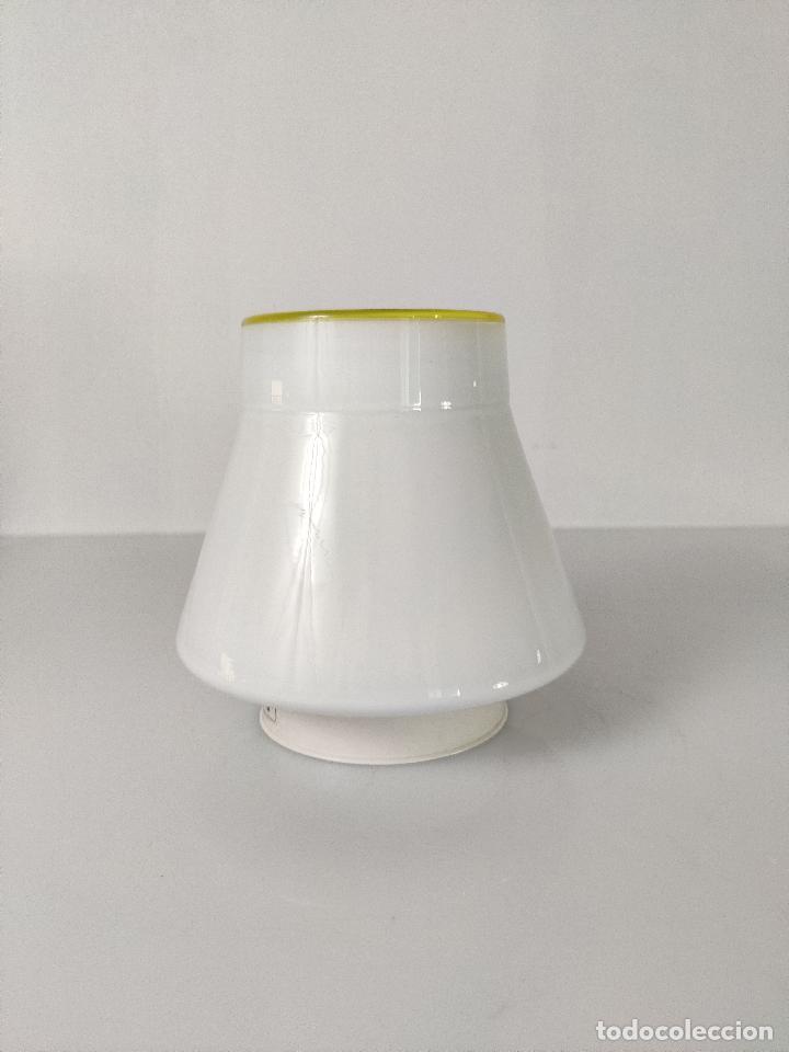 Vintage: Lámpara de techo aplique LEUCOS en cristal de Murano, 1970s - Foto 5 - 261638055