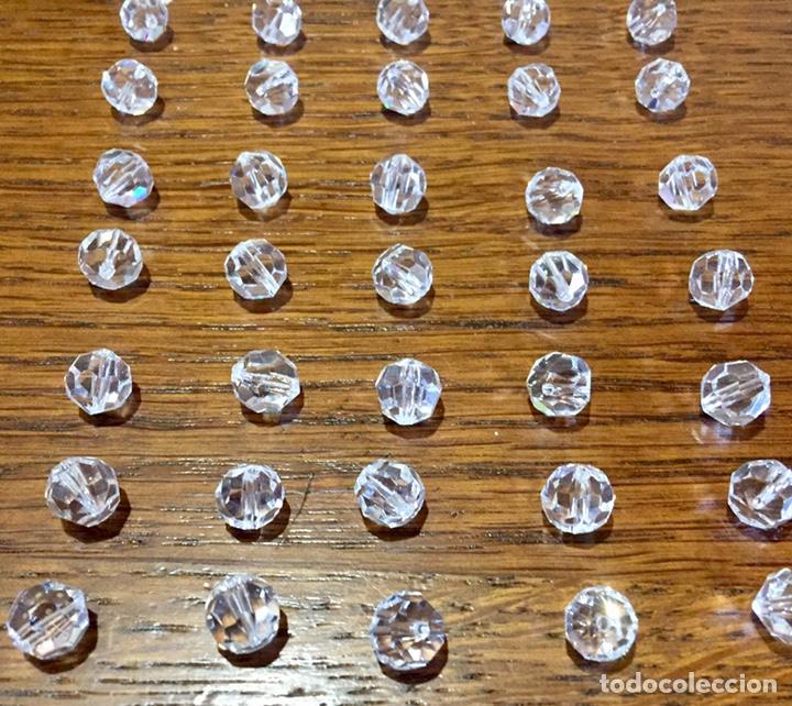 Vintage: Lote de pequeñas lágrimas de cristal. - Foto 2 - 262068410