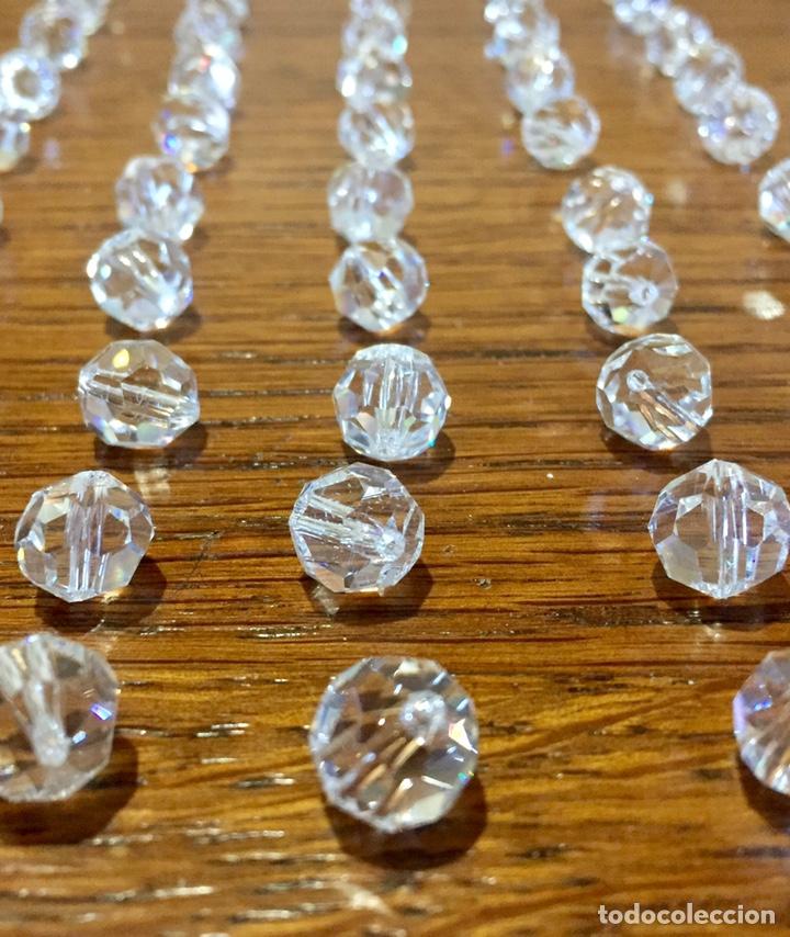 Vintage: Lote de pequeñas lágrimas de cristal. - Foto 4 - 262068410