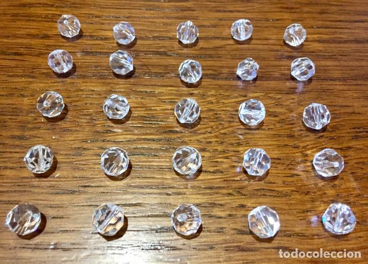 Vintage: Lote de pequeñas lágrimas de cristal. - Foto 6 - 262068410