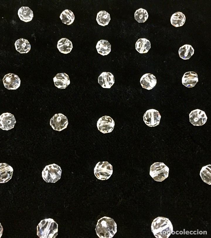 Vintage: Lote de pequeñas lágrimas de cristal. - Foto 2 - 262068590