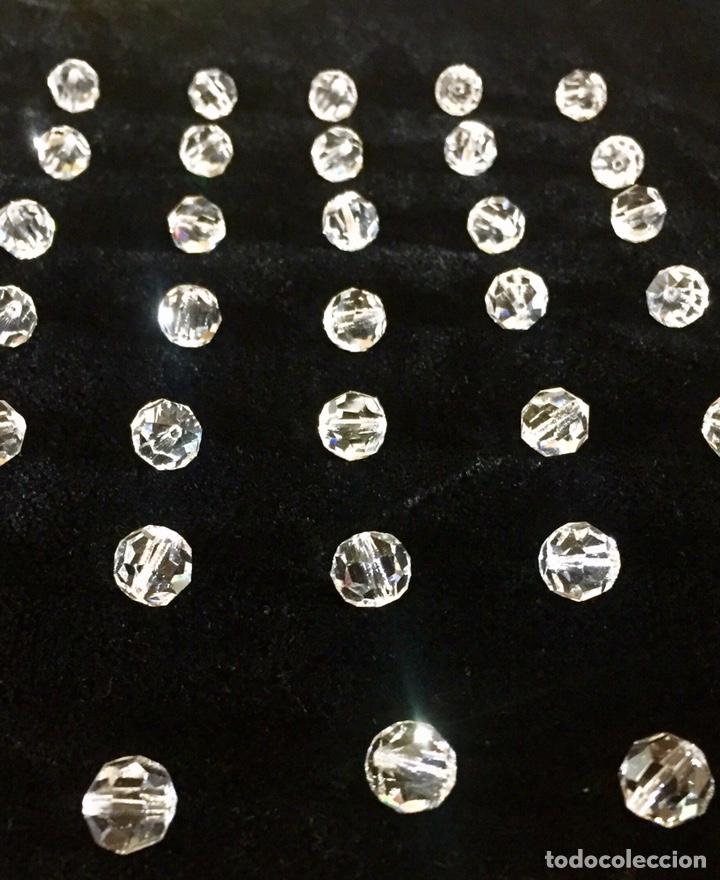 Vintage: Lote de pequeñas lágrimas de cristal. - Foto 3 - 262068590