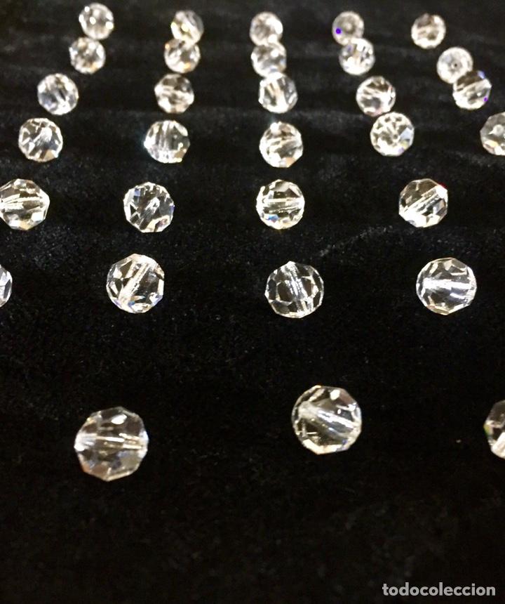 Vintage: Lote de pequeñas lágrimas de cristal. - Foto 4 - 262068590