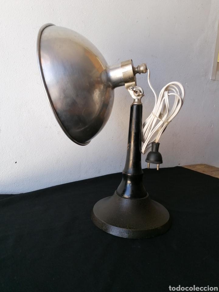 Vintage: Lámpara de sobremesa industrial vintage - Foto 5 - 262080890