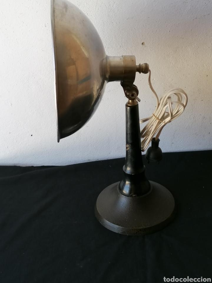 Vintage: Lámpara de sobremesa industrial vintage - Foto 7 - 262080890