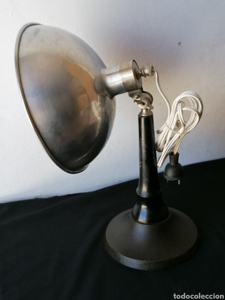 LÁMPARA DE SOBREMESA INDUSTRIAL VINTAGE (Vintage - Lámparas, Apliques, Candelabros y Faroles)