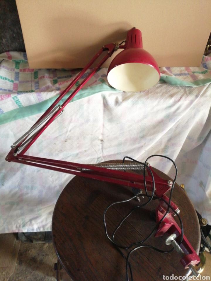 LÁMPARA FASE GIRATORIA AJUSTABLE (Vintage - Lámparas, Apliques, Candelabros y Faroles)