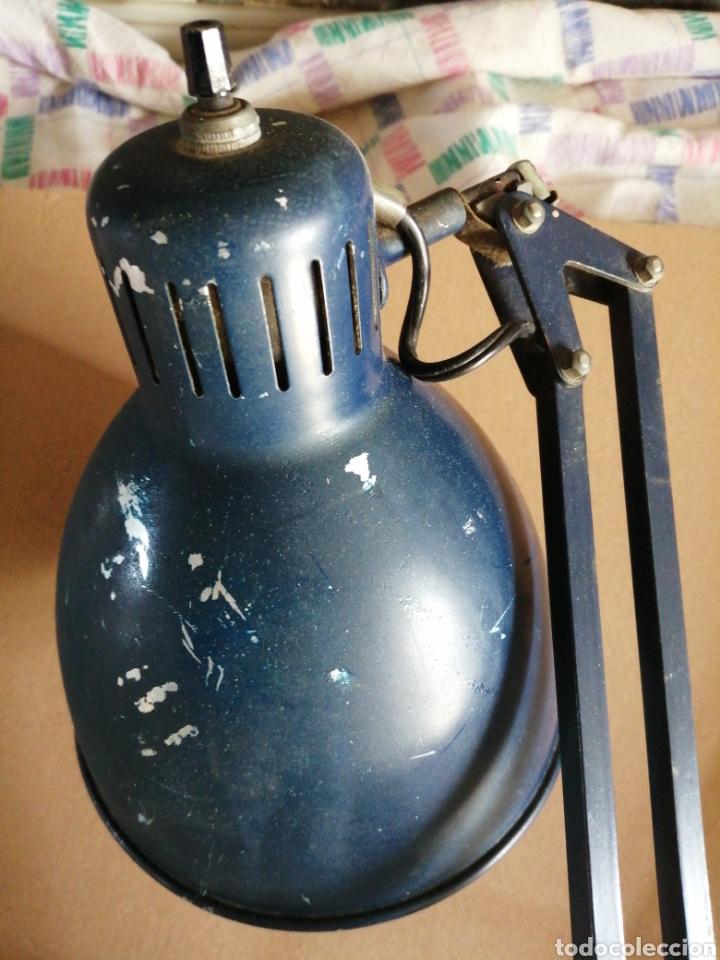 Vintage: Lámpara Arma giratoria ajustable - Foto 3 - 262092120