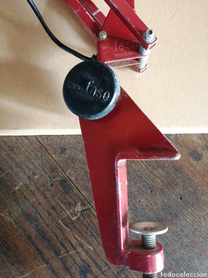 Vintage: Lámpara Fase giratoria ajustable - Foto 5 - 262093150