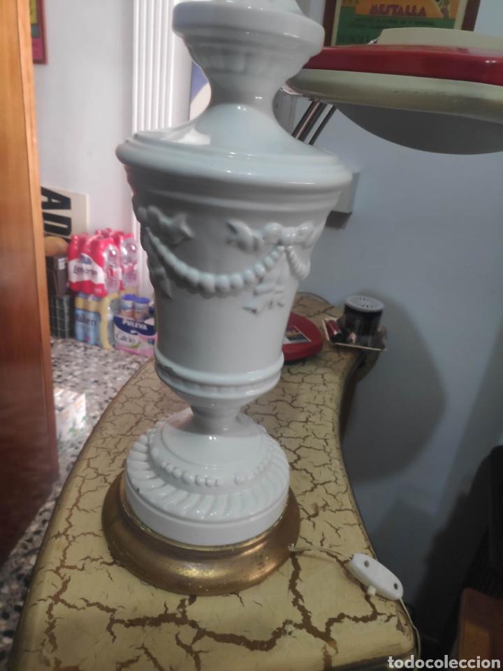 Vintage: Lampara vintage cerámica Manises navarro - Foto 5 - 262099995