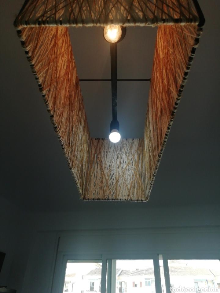 Vintage: Lámpara salón de techo - Foto 4 - 263176390