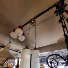 Vintage: LAMPARA DE TECHO-VINTAGE AÑOS 60/70-. Lote 264695619