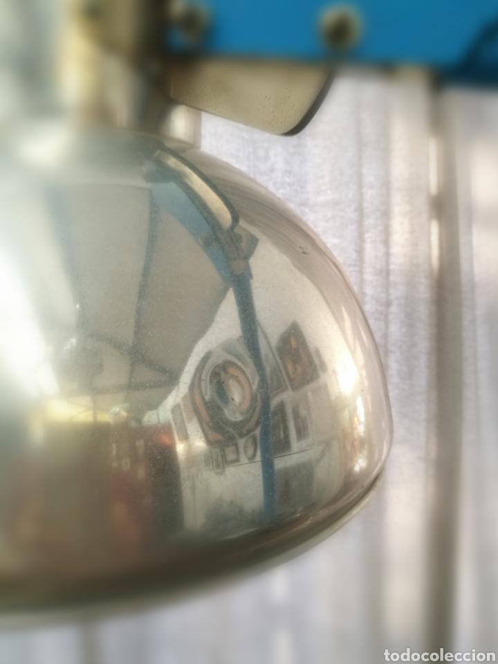 Vintage: ENORME FLEXO LAMPARA DE PIE MÉDICO AÑOS 70 // VINTAGE RETRO INDUSTRIAL ALUMINIO AZUL - Foto 7 - 267512489