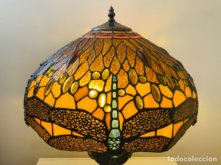 Vintage: Tiffany Dragonfly Lamp - Foto 3 - 268864499