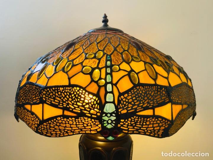 Vintage: Tiffany Dragonfly Lamp - Foto 4 - 268864499