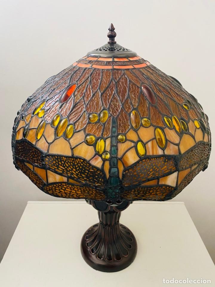 Vintage: Tiffany Dragonfly Lamp - Foto 5 - 268864499