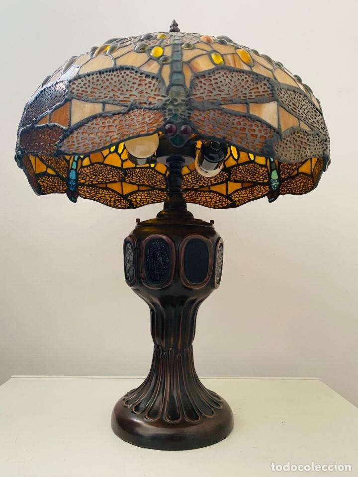 Vintage: Tiffany Dragonfly Lamp - Foto 6 - 268864499