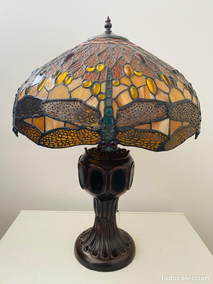 Vintage: Tiffany Dragonfly Lamp - Foto 7 - 268864499