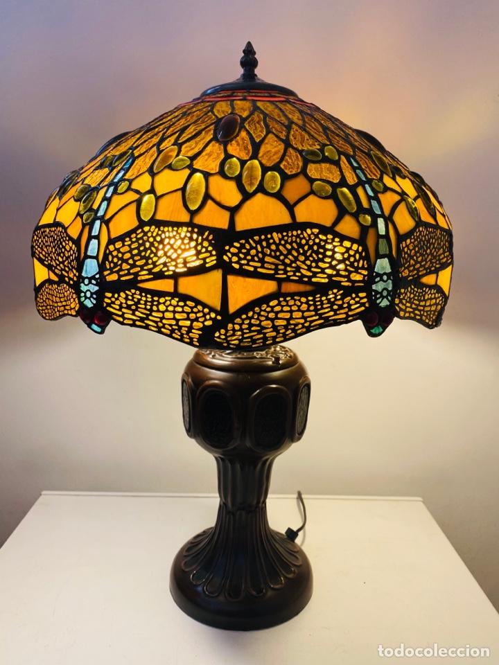 Vintage: Tiffany Dragonfly Lamp - Foto 9 - 268864499