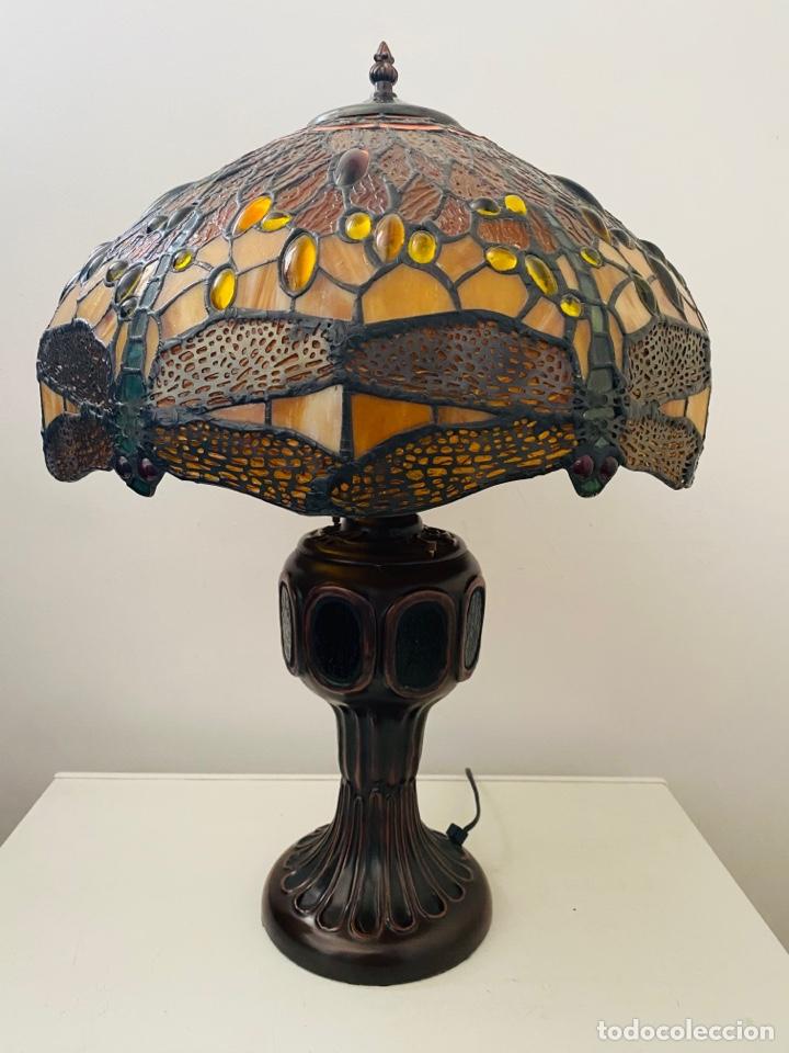 Vintage: Tiffany Dragonfly Lamp - Foto 10 - 268864499