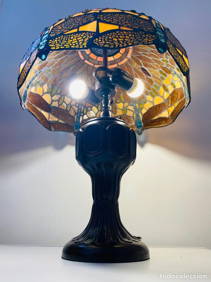 Vintage: Tiffany Dragonfly Lamp - Foto 11 - 268864499