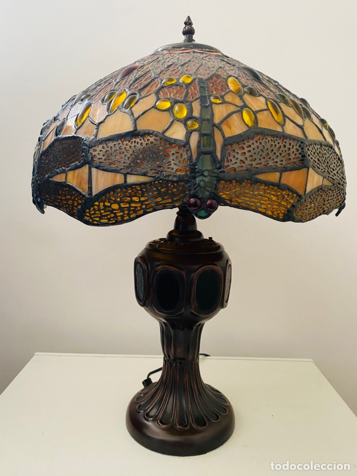 Vintage: Tiffany Dragonfly Lamp - Foto 14 - 268864499