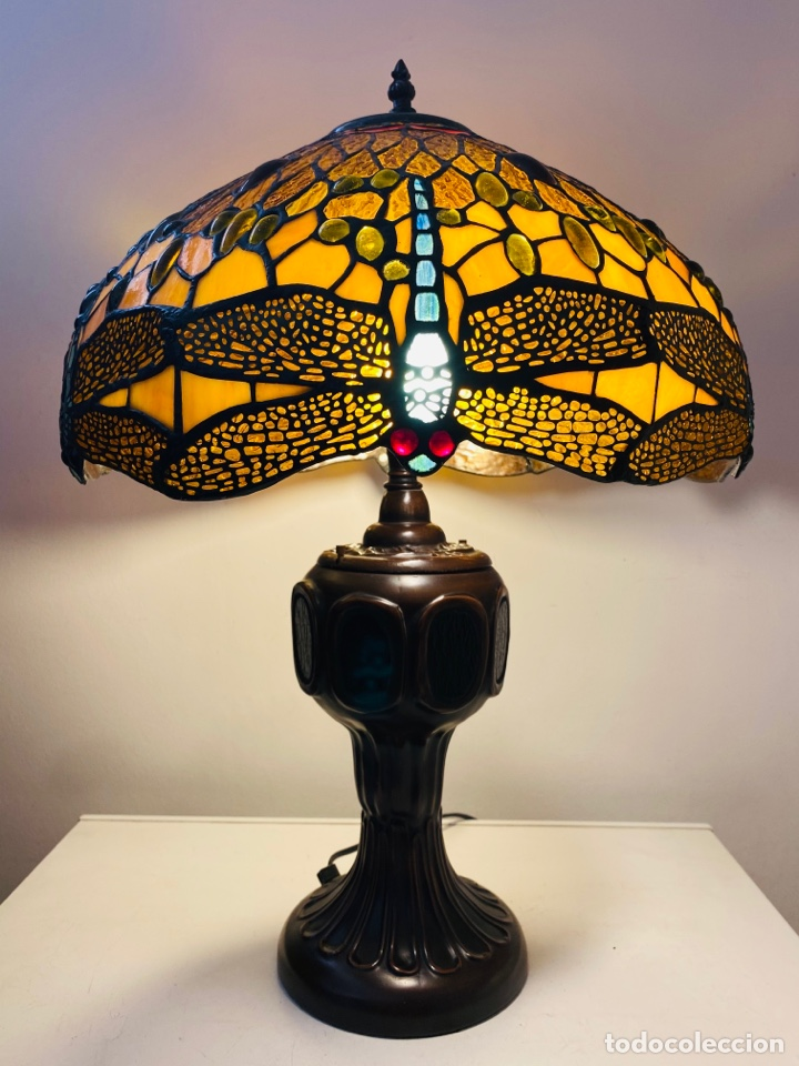 Vintage: Tiffany Dragonfly Lamp - Foto 16 - 268864499
