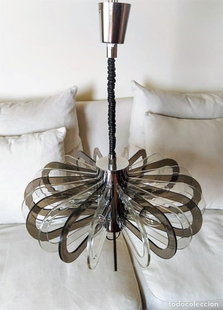 LAMPARA DE TECHO VINTAGE (Vintage - Lámparas, Apliques, Candelabros y Faroles)