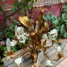 Vintage: EXPECTACULAR LAMPARA VINTAGE. Lote 269274943