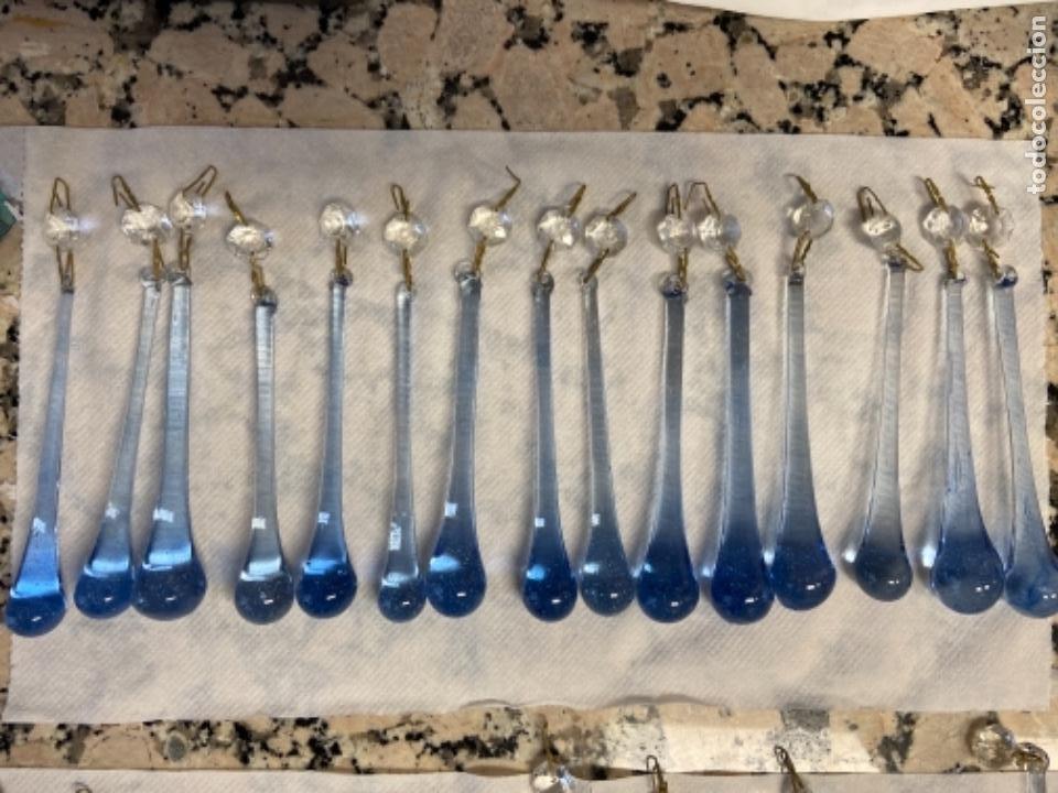 LÁGRIMAS PARA LAMPARA ANTIGUAS (Vintage - Lámparas, Apliques, Candelabros y Faroles)
