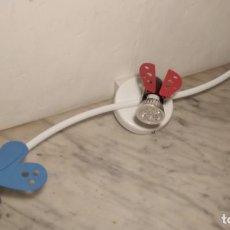 Vintage: LÁMPARA INFANTIL DE TECHO MODELO KRYP DE IKEA CON FOCOS LED (AÑO 2003) MARIQUITA - ABEJA - MARIPOSA. Lote 270586868