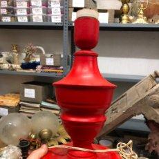 Vintage: ANTIGUA LAMPARA METALICA DE MESA - MEDIDA 28,5 CM. Lote 272942053