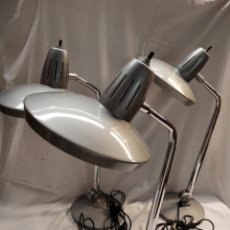 Vintage: 3 LAMPARAS DE OFICINA MARCA FASE. AÑOS 70. Lote 275755023