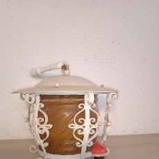 Vintage: LAMPARA,FAROL DE TECHO. Lote 276292923