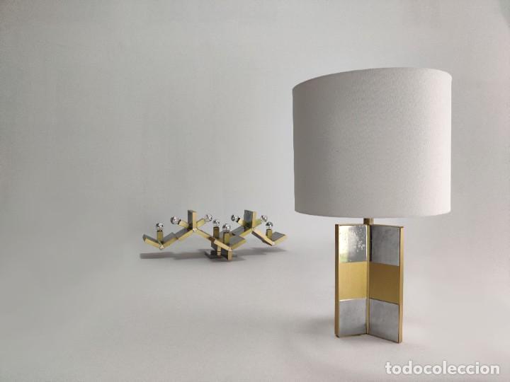 Vintage: Espectacular lámpara de pared de Gaetano Sciolari, 1970s - Foto 7 - 276961393