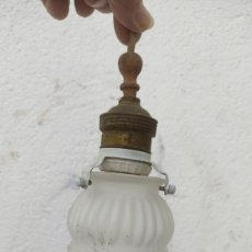 Vintage: LAMPARA TULIPA. Lote 277026948