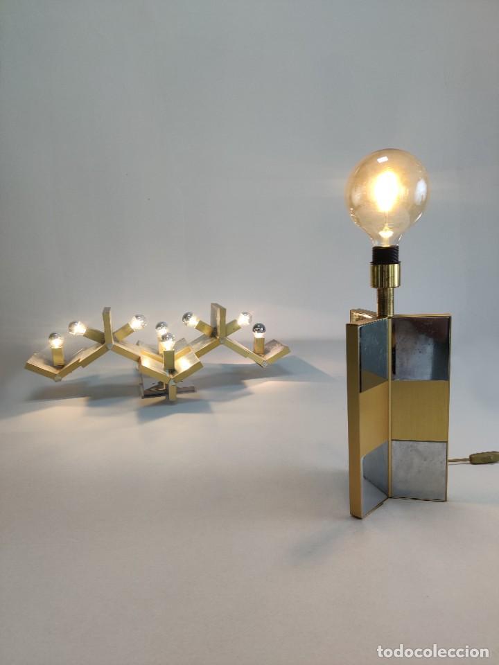 Vintage: Lámpara de mesa Gaetano Sciolari, 1970s - Foto 2 - 277078893