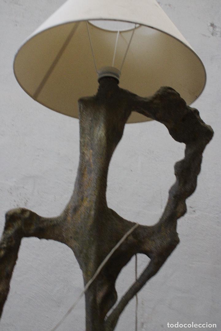 Vintage: lampara de pie subrrealista - Foto 2 - 277104913
