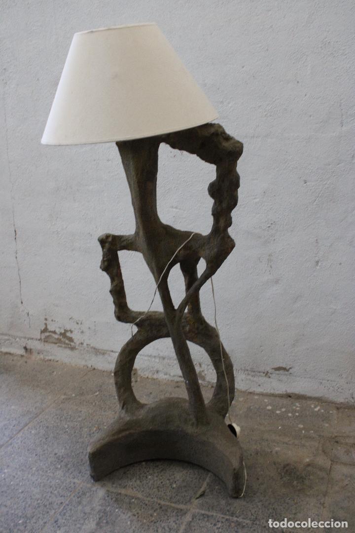 Vintage: lampara de pie subrrealista - Foto 5 - 277104913