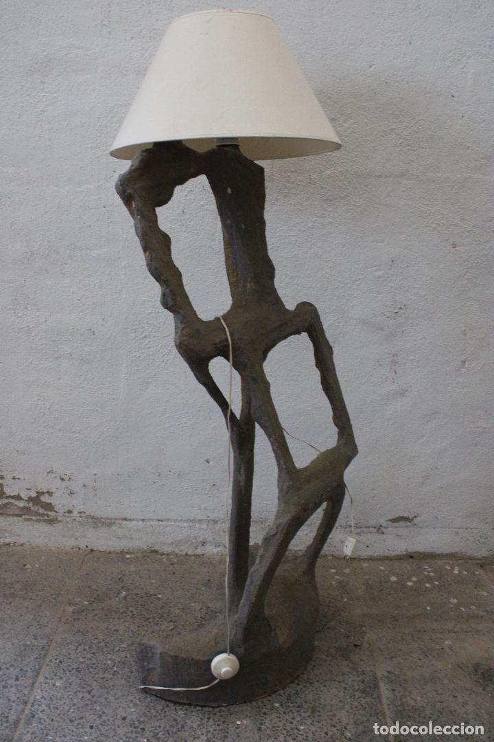 Vintage: lampara de pie subrrealista - Foto 7 - 277104913