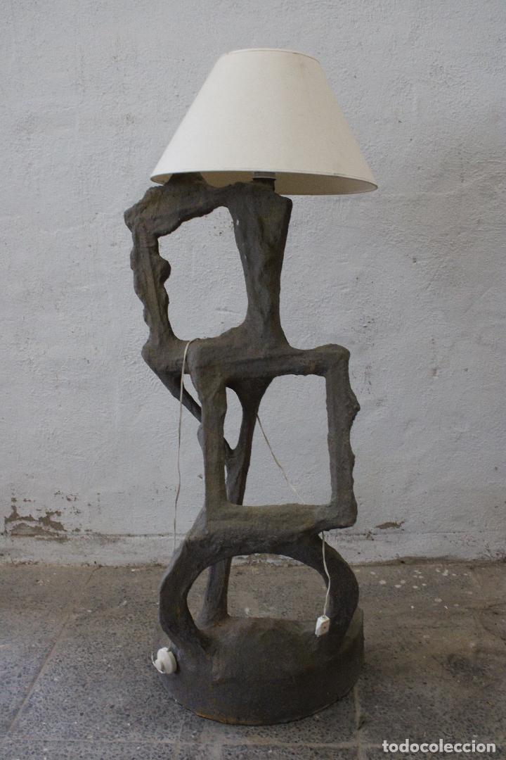 LAMPARA DE PIE SUBRREALISTA (Vintage - Lámparas, Apliques, Candelabros y Faroles)
