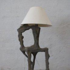Vintage: LAMPARA DE PIE SUBRREALISTA. Lote 277104913