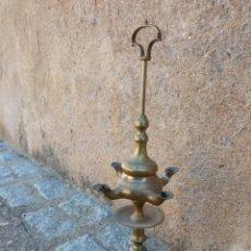Vintage: LÁMPARA DE ACEITE ANTIGUA.. Lote 283185343