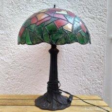 Vintage: LAMPARA TIFFANY DE SOBREMESA. Lote 284302968