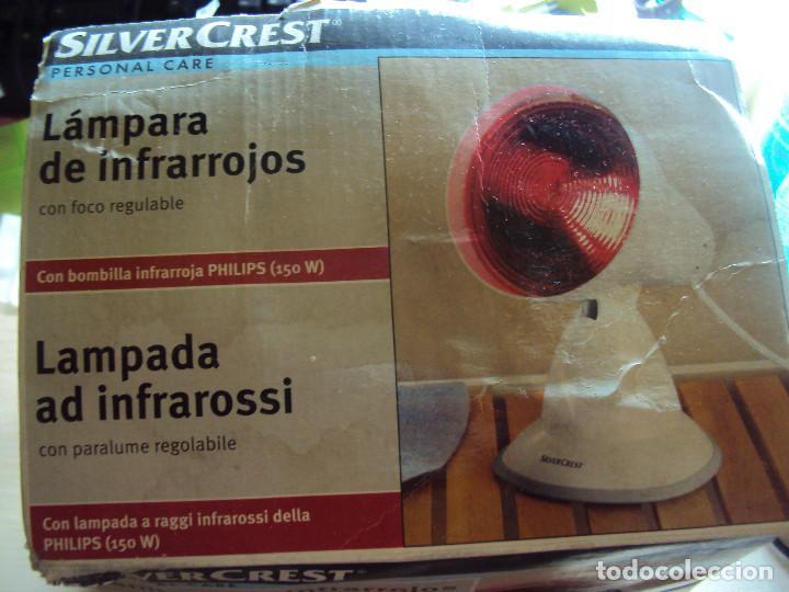 LAMPARA INFRAROJOS (Vintage - Lámparas, Apliques, Candelabros y Faroles)