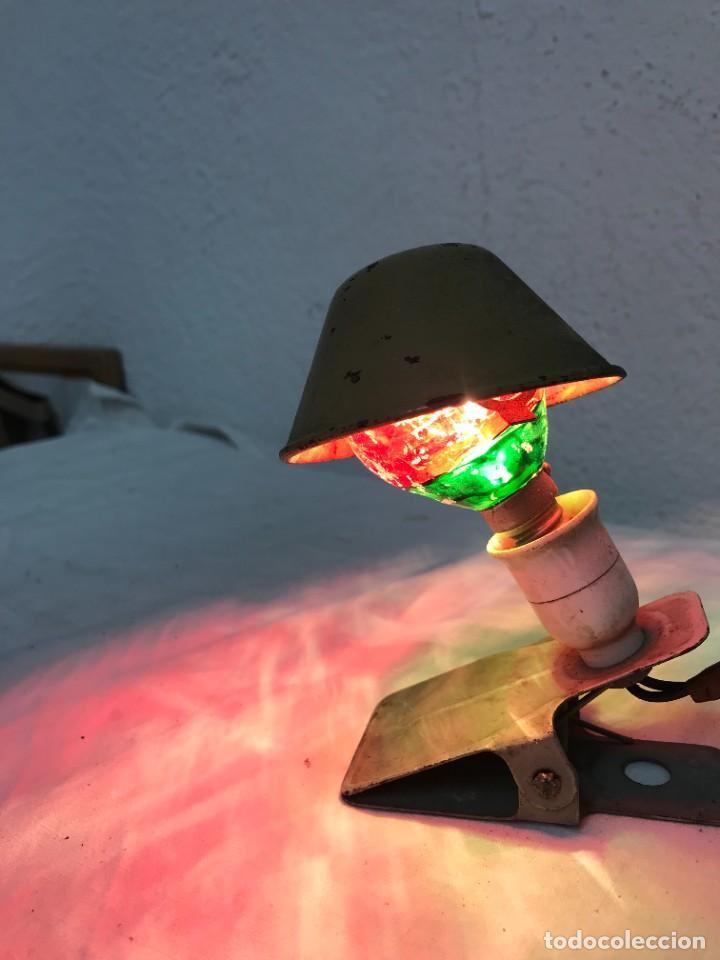 Vintage: ´Bonita lamparita de pinza - Foto 3 - 287986048