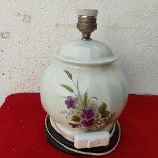 Vintage: LAMPARA DE CERAMICA SOBREMESA. Lote 287993048