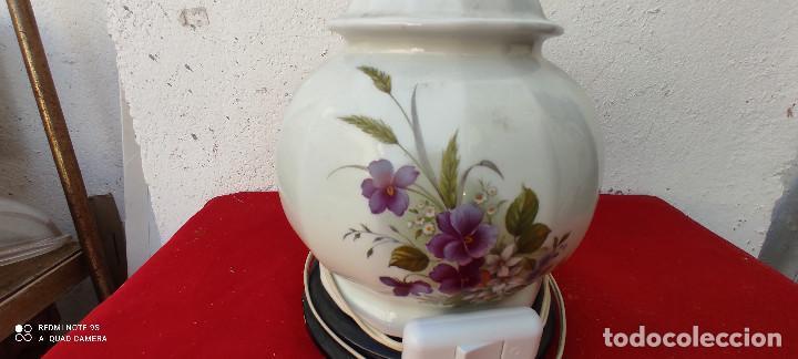 Vintage: lampara de ceramica sobremesa - Foto 2 - 287993048